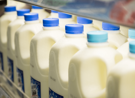 conventional dairy and milk